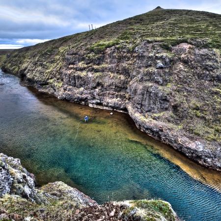 Hrutafjardara River