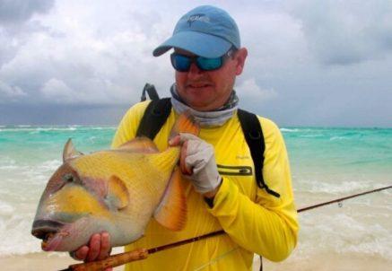 Fly fishing in the Maldives – Atmosphere Kanifushi