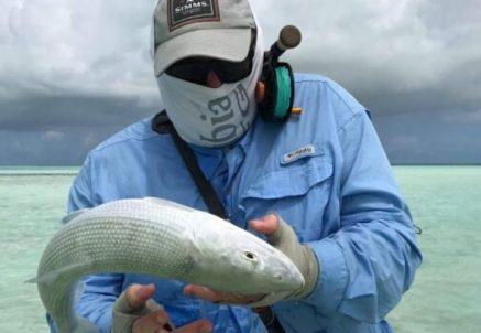 Flyfishing Christmas Island – trip report